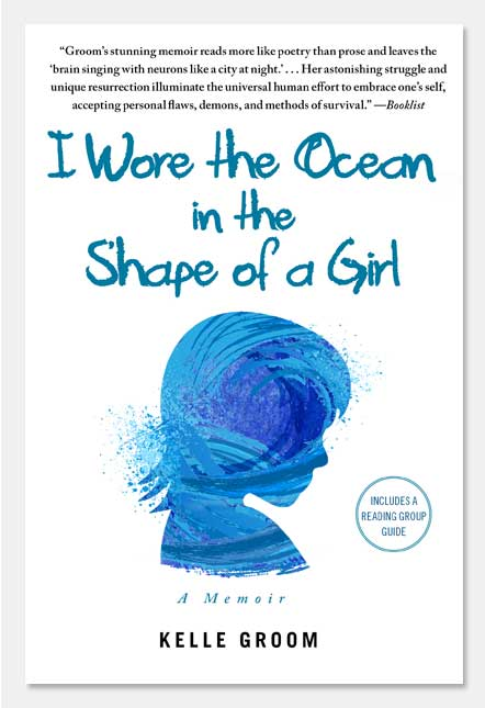 I Wore the Ocean as A Girl Front Cover
